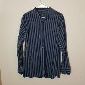 Murano Mens long sleeve LG dress shirt